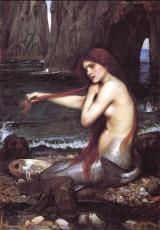 """""""Mermaid,"""" by John William Waterhouse"""
