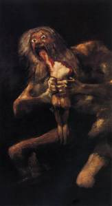Goya's Saturn Devouring His Son